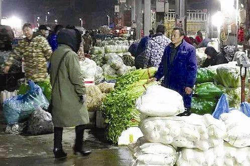 霞浦蔬菜批发市场