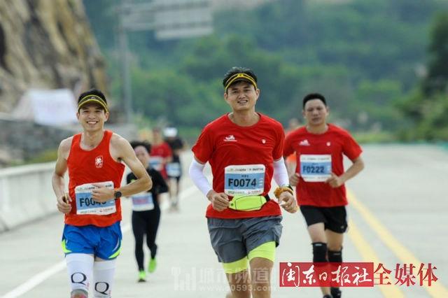 霞浦(三沙)国际山地马拉松赛暨全国滩涂摄影文化旅游周开幕