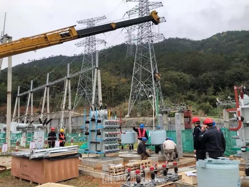 霞浦供电公司,例行检修赤岸变电站,稳固居民用电基础